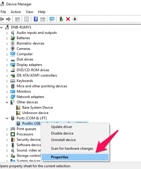 Fix Cisco USB console cable not working on windows 10