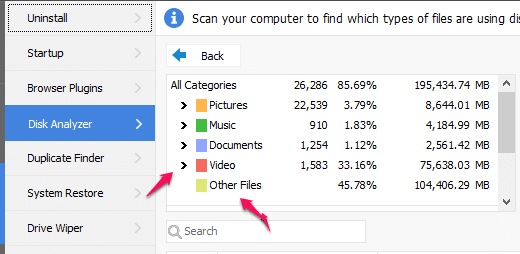 What is taking up space on my hard drive Windows 10
