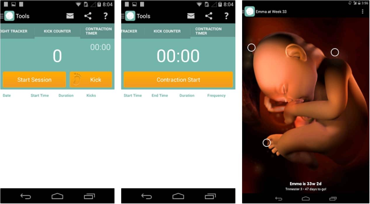 15 Of The Best Apps For Pregnancy and Baby Tracker App