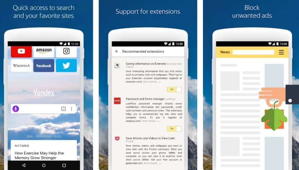 Private Browser Apps