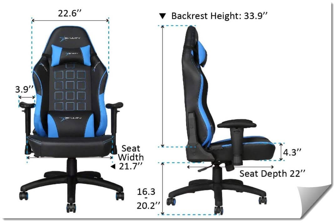 9 Of The Best Big and Tall Gaming Chair - Reviewed
