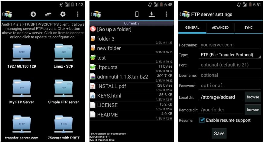 Best FTP Client for Android