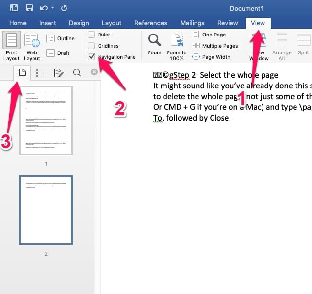 How To Delete A Page In Word [Step-By-Step Guide]