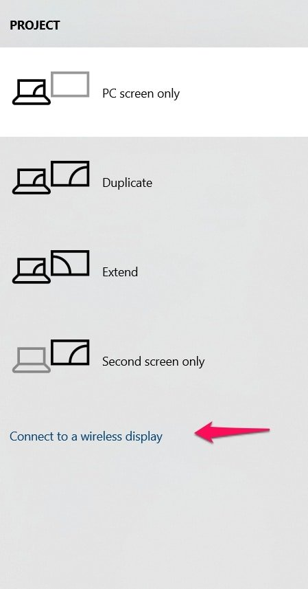 How To Set Up and Use Miracast on Windows 10 PC