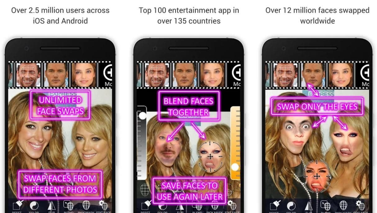9 Of The Best Face Swap Apps For Android & iOS