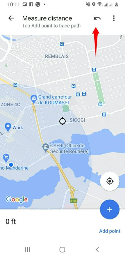 How To Check Google Maps Distance Between Points