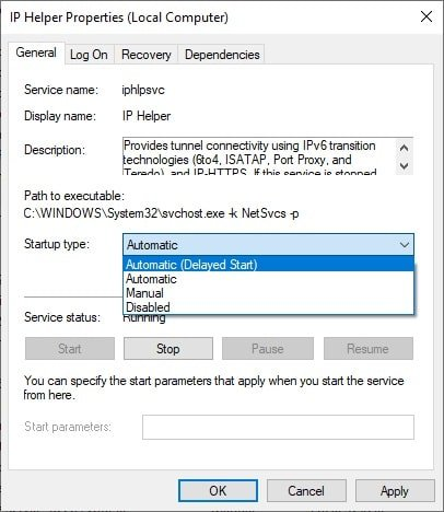 What is Iphlpsvc in Windows 10 & Fix its High CPU Usage