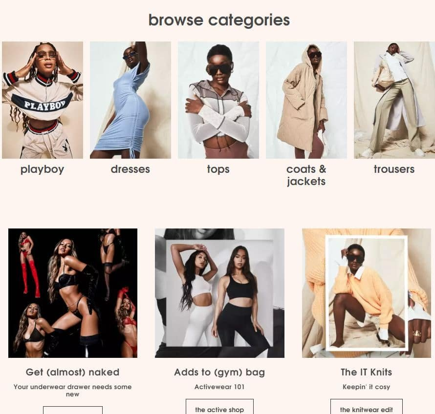 Stores like Asos 3